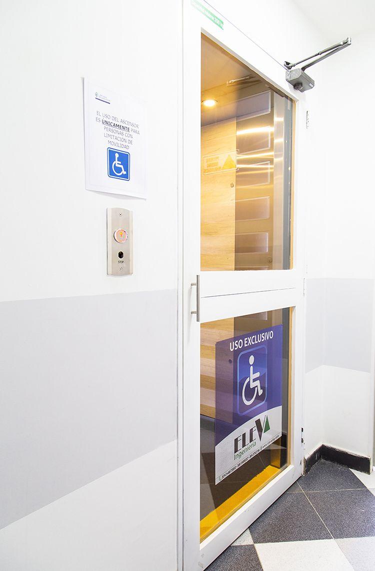 Instalaciones Grupo Ocupacional   exterior de ascensor