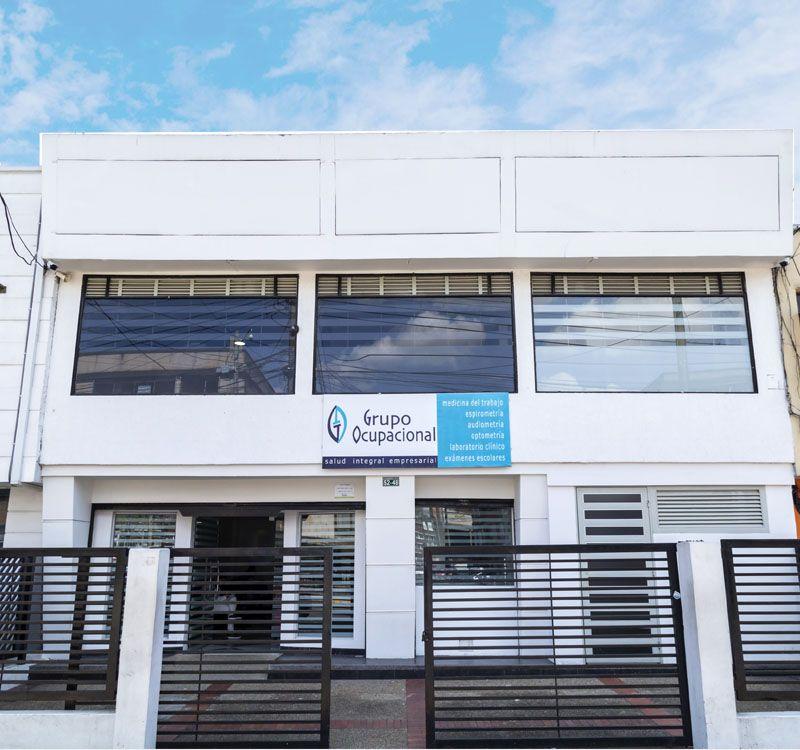Fachada instalaciones Grupo Ocupacional Bogotá