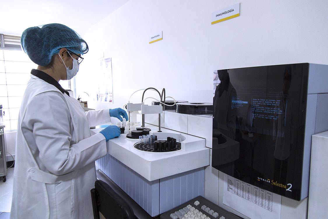 Equipo e instalaciones Grupo Ocupacional   Laboratorio